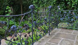 1.Rose balustrade